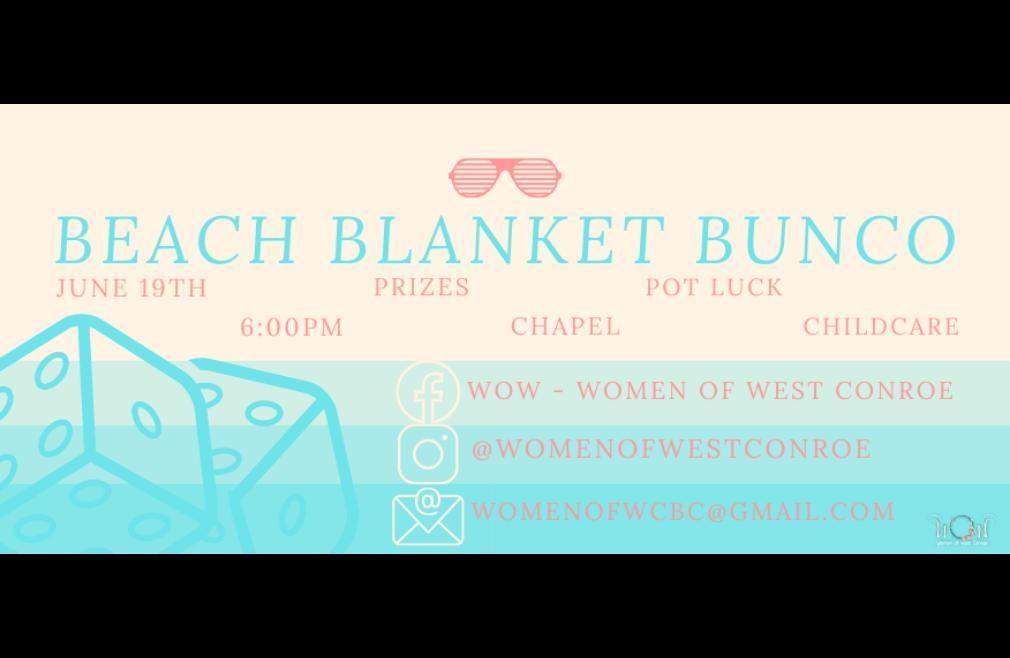 WOW Beach Bunco Night